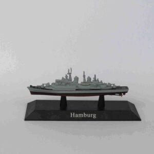 Hamburg Class Destroyer 1960.Modely bitevních lodí.Sběratelské Kovové modely lodí.Diecast models ships.DeAgostini MAG KZ63.