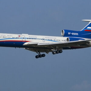 Tu-154.Tupolev Tu-154M-LK-1.Modely dopravnich letadel.Diecast models airlines.airplane.JC Wings LH2214.