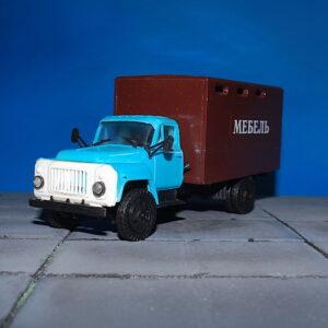GAZ-53.Modely nákladních aut.Diecast models vehicles.Kompanion Auto-Model KAM 02.
