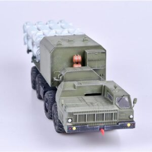 "Bal-E.SSC-6 ""Sennight"".Coastal Missile System with Kh-35 anti-ship cruise missiles.MAZ 7910.Modely raket.Diecast models rockets.Modely vojenské techniky.Diecast models military vehicles.ModelCollect AS72130."