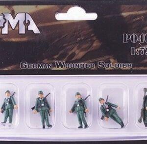 Figurky Figurky německých zraněných vojáků .PMA GERMAN WOUNDED SOLDIER.SBĚRATELSKÉ MODELY FIGUREK.PMA P0409.