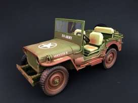 Jeep Wiiiys.MB.Modely vojenské techniky.Diecast models military vehicles.Triple 9 Collection TRN-1800141B.Modely tanků. Models diecast tanks. Modely aut. Diecast models cars. Modely letadel. Diecast models aircraft. Diecast models helicopters. Sběratelské modely. Hotové modely. Sběratelské modely tanků. Kovové modely.