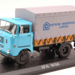 IFA W50L Truck.Centrum Warehouse Leipzig.Modely nákladních aut.Diecast models vehicles.trucks.White Box WHI S0027.