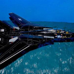 Diorama.1/72.OCEAN LOW PASS DIORAMA BASE.Calibre Wings CA72DB01.