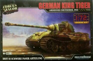 Panzerkampfwagen VI Ausf.B Tiger II.King Tiger.Tank.Sd.Kfz.182.Modely tanků.Plastic kit.Forces of Valor UN-873002A.
