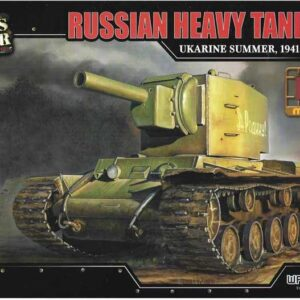 KV–2 Heavy Tank.Modely tanků.Plastic kit.Forces of Valor UN-873003.