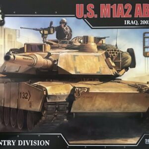 M1 Abrams Tank.M1 Abrams Main Battle Tank.Modely tanků.Plastic kit.Forces of Valor UN-873005A.