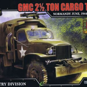GMC CCKW 353 2.5ton Cargo Truck.Modely tanků.Plastic kit.Forces of Valor UN-873006A.