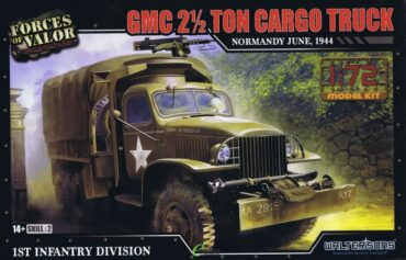 GMC CCKW 353 2.5ton Cargo Truck.Modely tanků.Plastic kit.Forces of Valor UN-873006A.