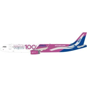 A321.Airbus A321-200.Modely dopravních letadel.Diecast models airplanes.airliner.Inflight 200 IF321W60919.