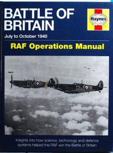 "book Haynes ""Battle Of Britain"" RAF Operations Manual"