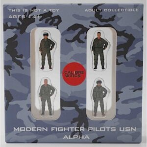 Modern Fighter Pilots USN Alpha (United States Navy).Figurky Pilotů.Calibre Wings CA72WS01.