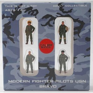 Modern Fighter Pilots USN Bravo (United States Navy).Figurky Pilotů.Calibre Wings CA72WS02.