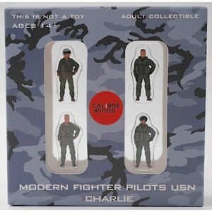 Modern Fighter Pilots USN CHARLIE (United States Navy).Figurky Pilotů.Calibre Wings CA72WS03.