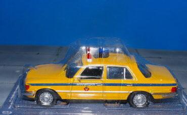 Mercedes-Benz W116.Mercedes-Benz.DeAgostini Police Cars MAG LH22.Modely aut.Diecast models cars.Modely nákladních aut. Diecast models vehicles.trucks. Modely hasíčských,požarních vozidel. Diecast models cars.fire engine. Transport diecast models. Modely vojenské techniky. Diecast models military vehicles. Modely tanků. Diecast models tanks. Sběratelské modely. Hotové modely. Kovové modely.