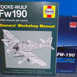 SET - FW 190A-4 6./JG 1 (Jagdgeschwader 1), Woensdrecht, Holland, October 1942 + kniha Focke-Wulf Fw 190 Manual.