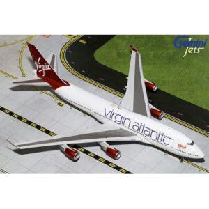 B747.Boeing 747.Boeing 747-400.Modely dopravnich letadel.Diecast models aircraft.Gemini Jets G2VIR766 - Boeing B747 -400 , 'G-VBIG' Tinker Bell Virgin Atlantic.