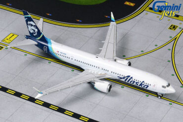 B737.Boeing 737 MAX 9.Boeing.Modely dopravních letadel.Diecast models airplanes.airliner.Gemini Jets GJASA1873.