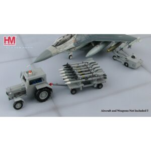 US Modern Weapon Loading Set II.Ford Tractor.Missiles Trailer.Lift Truck.Modely vojenské techniky. Diecast models military vehicles.Hobby Master HD3005B.