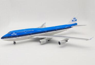 B747.Boeing 747.Boeing 747-400.Modely dopravnich letadel.Diecast models aircraft.Inflight 200 IF744KL0519.