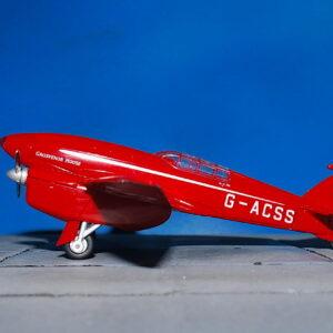 DH.88 Comet.de Havilland DH.88 Comet.Modely letadel.Diecast models aircraft.Oxford OX- 72COM002.Modely vrtulníků. Diecast models helicopters. Diecast models cars. Modely vojenské techniky. Diecast models military vehicles. Modely raket. Diecast models rockets. Sběratelské modely. Hotové modely. Kovové modely.