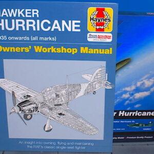 Hobby Master- SET - Hawker Hurricane Mk.IIC , 'PZ865' BBMF 2016 + kniha Hawker Hurricane Manual HAYNES