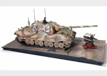 Jagdtiger.Sd.Kfz.186.Panzerjäger Tiger Ausf.B.Modely tanku.Diecast models tanks.Forces of Valor UN-801065A.