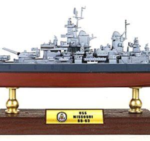 USS Missouri.BB-63.U.S.NAVY.Modely bitevních lodí.Sběratelské Kovové modely lodí.Diecast models ships.Forces of Valor UN- 861003.