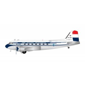 DC-3.Douglas DC-3.C-47 Dakota.Modely letadel.Diecast models aircraft.Gemini Jets G2KLM843.