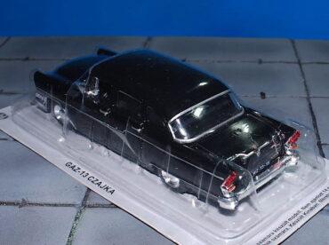 GAZ.ГАЗ.GAZ M-13 Čajka.GAZ-13 Chaika (M13).Modely aut. Diecast models cars.DeAgostini Auto Legends USSR DAL-13. Modely nákladních aut. Diecast models vehicles.trucks. Modely hasíčských,požarních vozidel. Diecast models cars.fire engine. Transport diecast models. Modely vojenské techniky. Diecast models military vehicles. Modely tanků. Diecast models tanks. Sběratelské modely. Hotové modely. Kovové modely.
