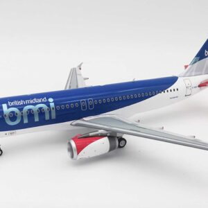 Airbus A320-200 , BMI British Midland.Inflight 200 IF320BM0419.