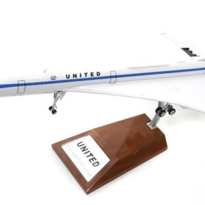 Concorde.United Airlines.Modely dopravních letadel.Diecast models airplanes.airliner.Inflight 200 IFCONC1016.