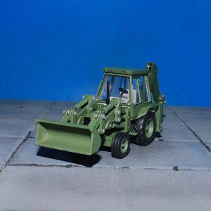 JCB 3CX Backhoe Loader.Modely vojenské techniky. Diecast models military vehicles.Diecast models traktors.Oxford Diecast 76JCX002.