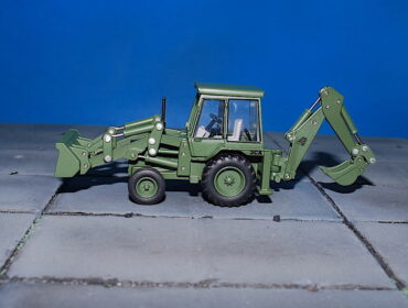JCB 3CX Backhoe Loader.Modely vojenské techniky. Diecast models military vehicles.Diecast models traktors.Oxford Diecast 76JCX002.