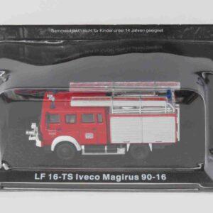 LF 16-TS Iveco Magirus 90-16.Modely hasícských vozidel.Diecast models fire engine.Altaya.