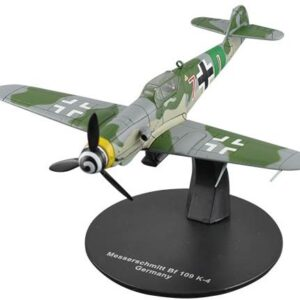 Me 109.Messerschmitt Bf 109 K-4.Modely letadel.Diecast models aircraft.DeAgostini WWII Aircraft Collection 41.