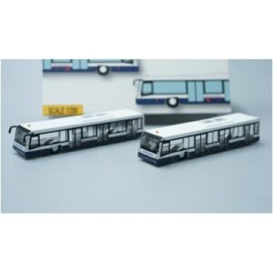Airport Bus (set).British Airways.Landor Version.Modely dopravních letadel.Diecast models airplanes.airliner.Fantasy Wings FWAA2003.