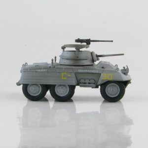 M8 Greyhound.Armored Car.Ford.Modely vojenské techniky.Diecast models military vehicles.tanks.Hobby Master HG1312.