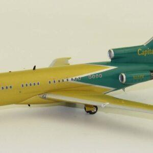 B727.Boeing 727-27.Modely letadel.Modely dopravnich letadel. Diecast models airplanes.airliner.J Fox Models JF-727-1-001.