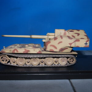 E-100.E100.E-100 Waffenträger with 128mm gun.Modely tanku.Diecast models tanks.ModelCollect Germany WWII AS72131.