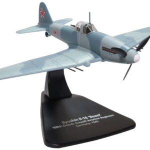 Il-10.Ilyushin Il-10.Modely letadel.Diecast models aircraft.Oxford AC093.
