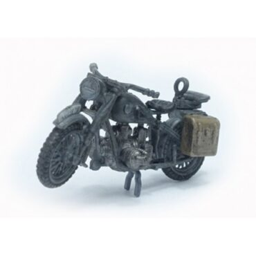 BMW R75 + side car , mechanized reconnaissance unit Wehrmacht - SET.PMA P0306.