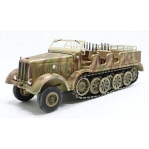 Sd.Kfz.8.Schwerer Zugkraftwagen 12t.half-track.Modely vojenské techniky.Diecast models military vehicles.