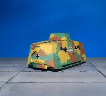 A7V.Tank.A7V Sturmpanzerwagen.Heavy Tank.German Empire 1917.Modely tanků.Diecast models tanks.Panzerkampf PAN12081PB.Modely vojenské techniky. Diecast models military vehicles. Modely aut. Diecast models cars. Modely letadel. Diecast models aircraft. Diecast models helicopters. Modely raket. Diecast models rockets. Sběratelské modely. Hotové modely. Sběratelské modely tanků. Kovové modely.