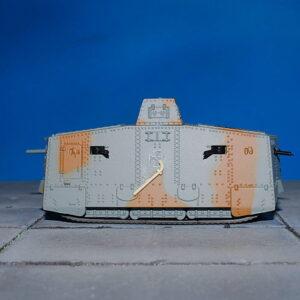 A7V.Tank.A7V Sturmpanzerwagen.Heavy Tank.German Empire 1917.Modely tanků.Diecast models tanks.Panzerkampf PAN12081PC.Modely vojenské techniky. Diecast models military vehicles. Modely aut. Diecast models cars. Modely letadel. Diecast models aircraft. Diecast models helicopters. Modely raket. Diecast models rockets. Sběratelské modely. Hotové modely. Sběratelské modely tanků. Kovové modely.