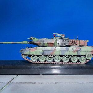 LEOPARD 2 A7 Main Battle Tank.Modely tanků.Diecast models tanks.Panzerkampf PAN12174PA.Modely vojenské techniky. Diecast models military vehicles. Modely aut. Diecast models cars. Modely letadel. Diecast models aircraft. Diecast models helicopters. Modely raket. Diecast models rockets. Sběratelské modely. Hotové modely. Sběratelské modely tanků. Kovové modely.