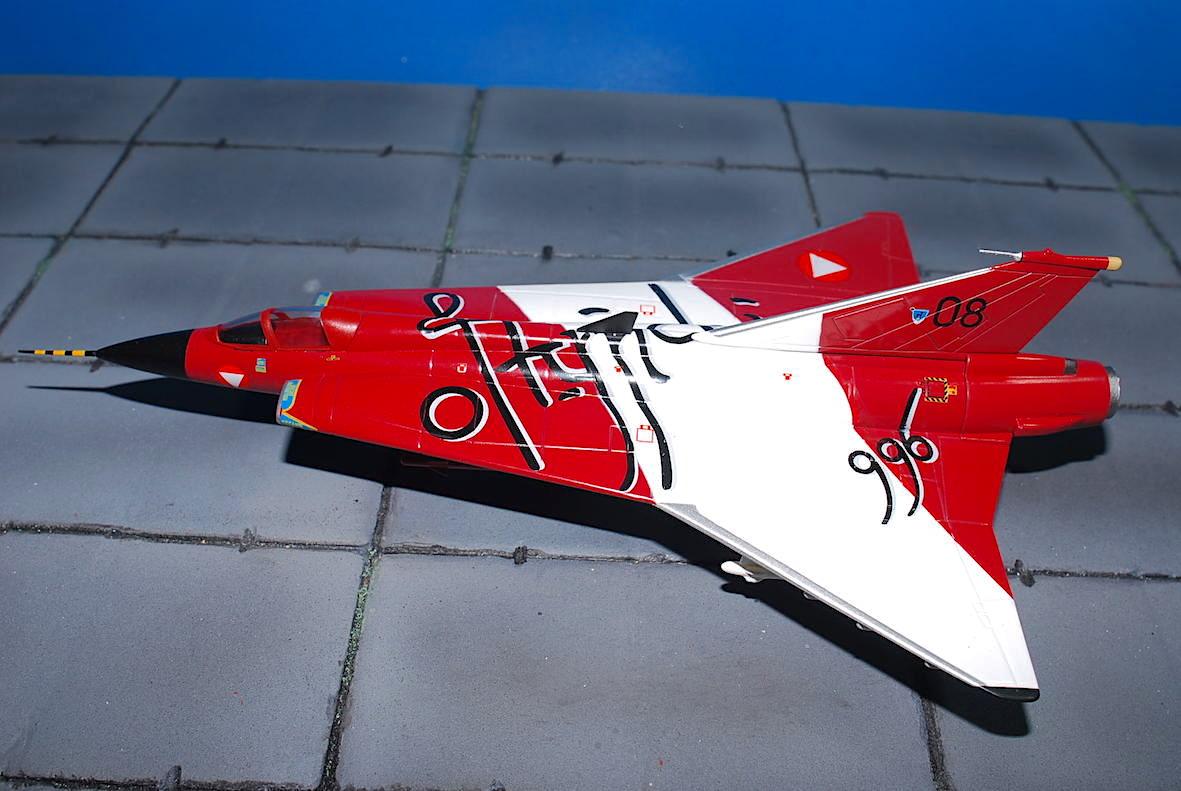 Aviation 72 1:72 Draken Austrian Air Force #08