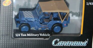 JEEP.MB.Willys Jeep.Modely aut.Diecast models cars.Modely vojenské techniky.Diecast models military vehicles.Cararama CAR 4-91840.
