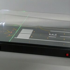 "JC Wings JC-LH5002 - 1/500 Runway Display Case with LED ""RWY 31"""