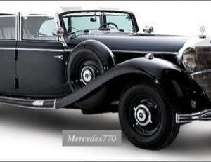 Mercedes-Benz 770 (W07/W150).Grand Mercedes.Großer Mercedes.Convertible F.Modely aut.Diecast models cars.MODEL CAR Group (MCG) MCG 18207.